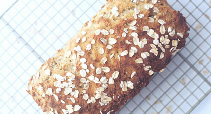 Honey Oat Loaf {gluten-free & dairy-free}